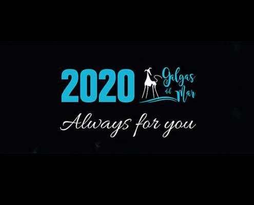 Calendario 2020 Galgas del Mar