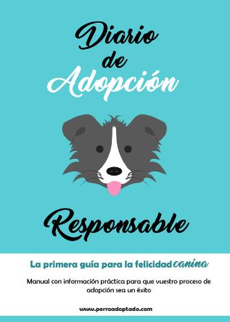Libro Diario de Adopción Canina